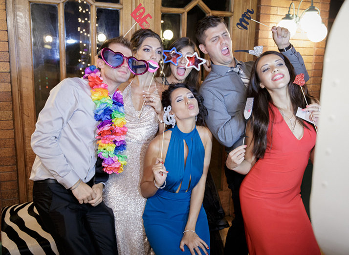 Wedding Photobooth | Cafe Brauer | Chicago Wedding | Bubbly Moments