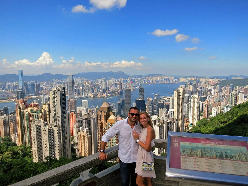 Victoria Peak Hong Kong | Hong Kong Honeymoon | Travel | Bubbly Moments