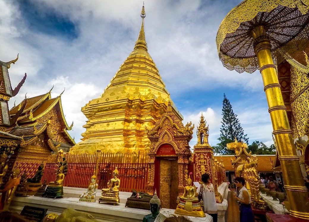 Wat Phra That Doi Suthep   Chiang Mai Honeymoon   Travel   Bubbly Moments