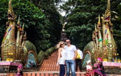 Wat Phra That Doi Suthep | Chiang Mai Honeymoon | Travel | Bubbly Moments