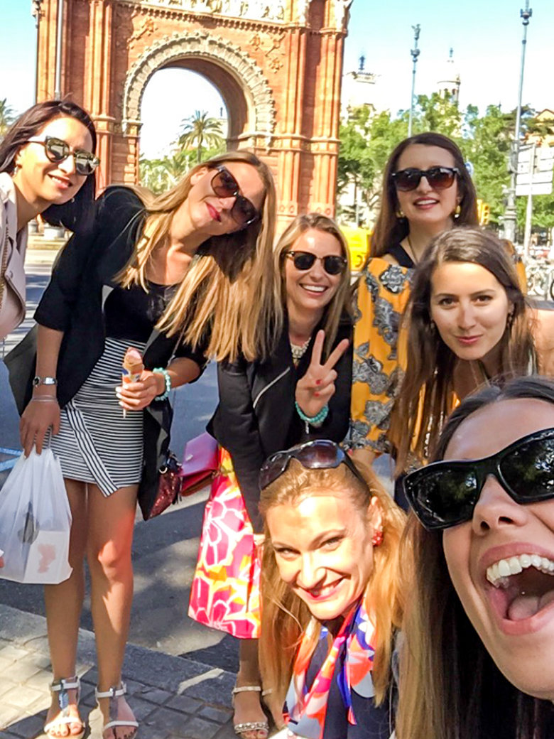 Barcelona Girls Trip | Bachelorette Party | Europe | Travel | Bubbly Moments