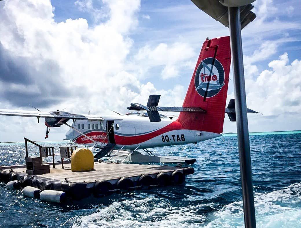 Sea Plane Ride | Maldives | Bubbly Moments