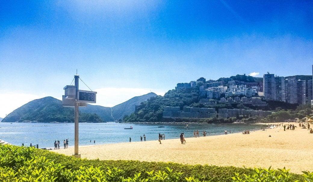 Repulse Beach | Hong Kong Honeymoon | Travel | Bubbly Moments