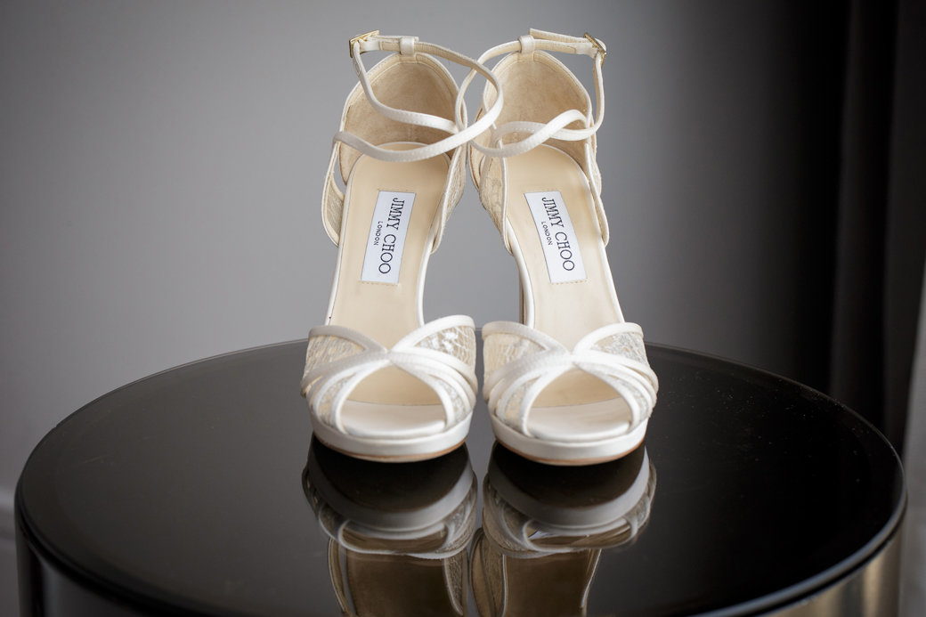 Jimmy Choo Bridal Shoes | Chicago Wedding | Cafe Brauer | Bubbly Moments