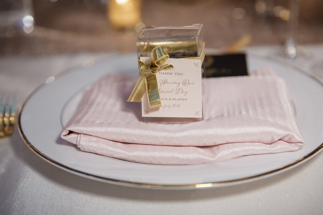 Wedding Favors | Macarons | Cafe Brauer | Chicago Wedding | Bubbly Moments
