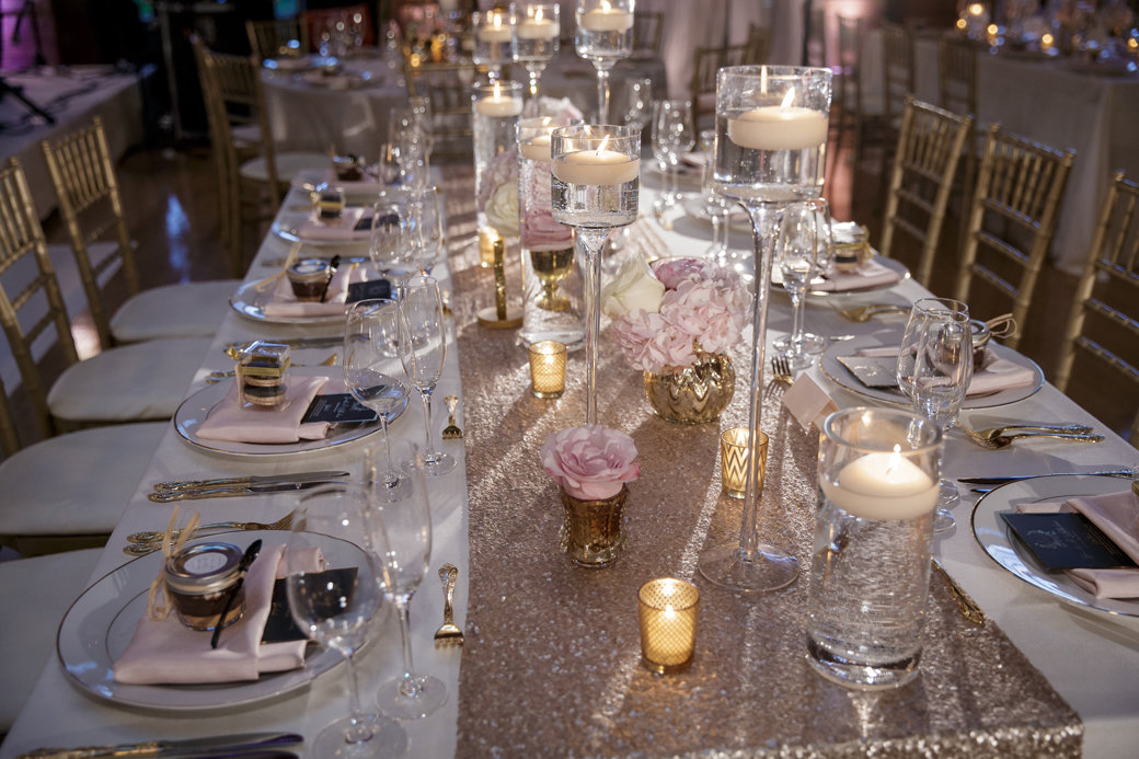 Stunning Blush, Gold, Rose Gold Wedding | Cafe Brauer | Chicago Wedding | Bubbly Moments