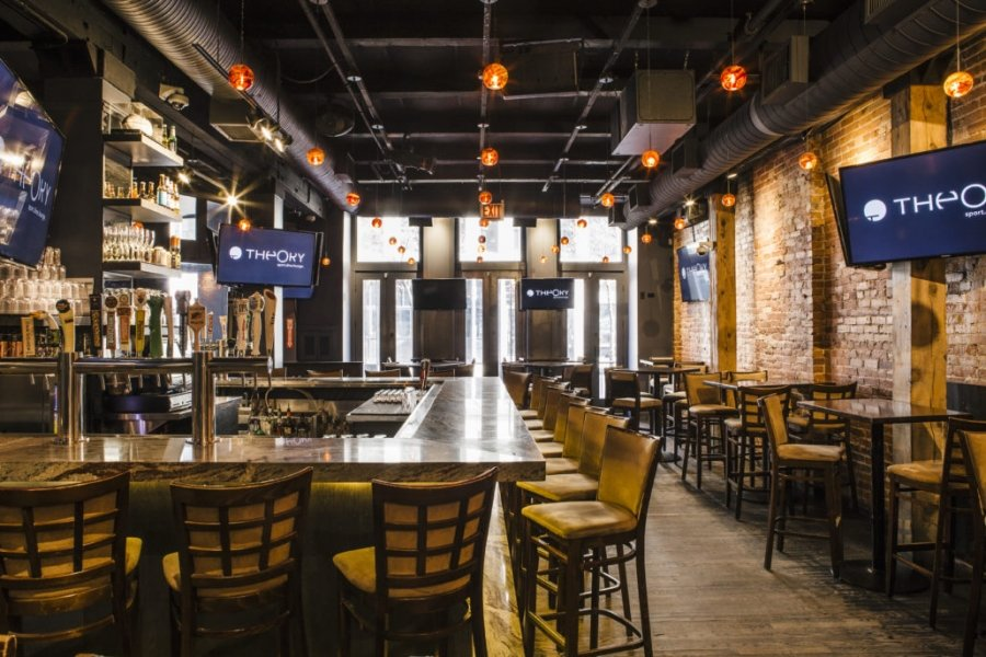 Theory Sports Bar and Grill | Best Sports Bars in River North | Chicago | Bubbly Moments