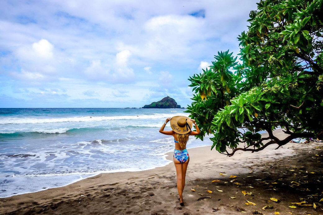 Hamoa Beach | Driving the Road to Hana | Maui | Hawaii | Bubbly Moments