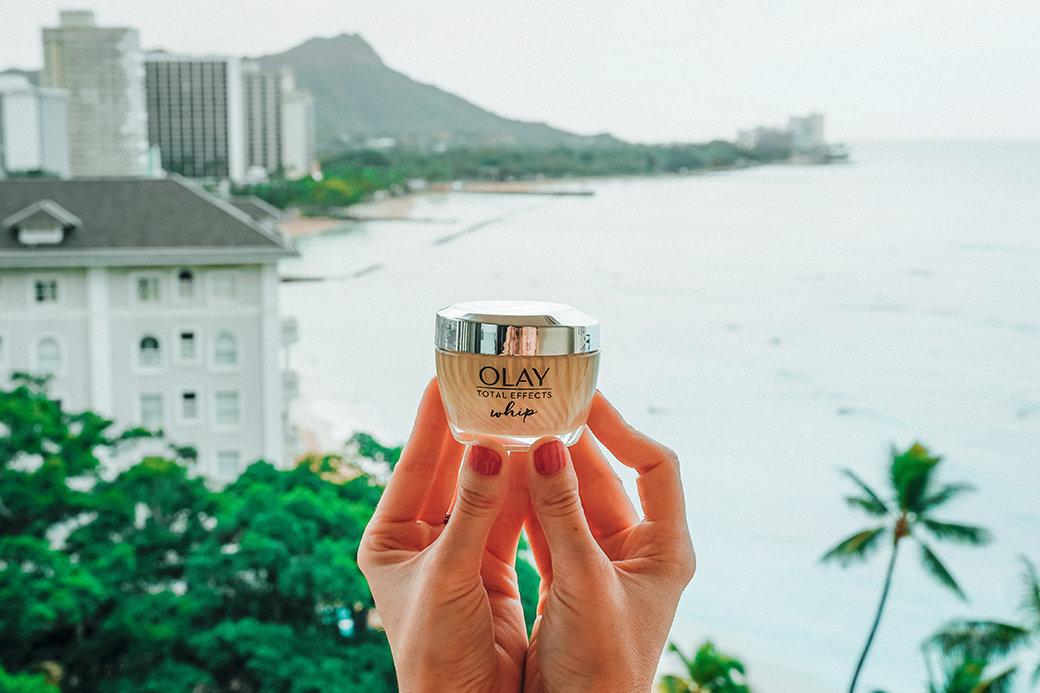 Olay Whips Ultimate Skin Solution | Honolulu | Oahu | Moana Surfrider | Hawaii | Aloha | Travel | Bubbly Moments