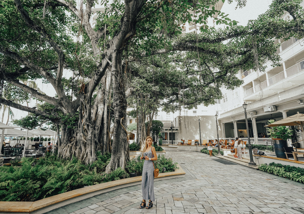 Moana Surfrider Hotel Honolulu | Oahu | Waikiki Beach | Travel | Travel Photography | Westin Hotel | Bubbly Moments