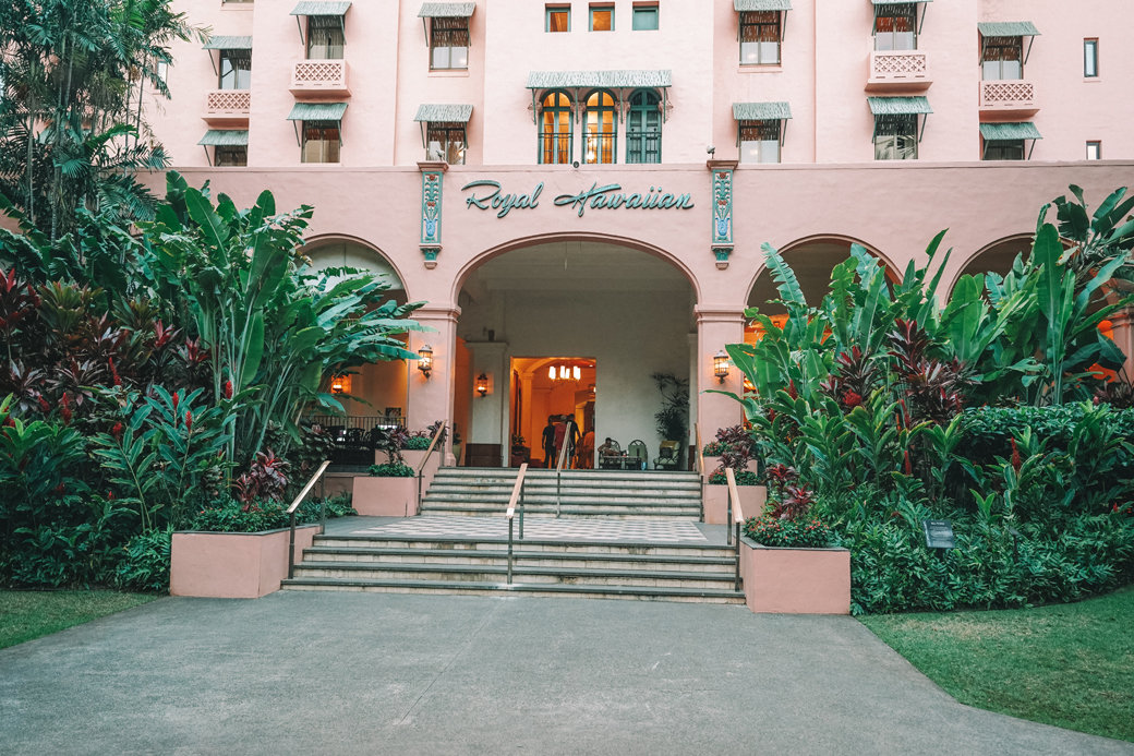 The Royal Hawaiian Hotel Honolulu – The Pink Palace of the Pacific