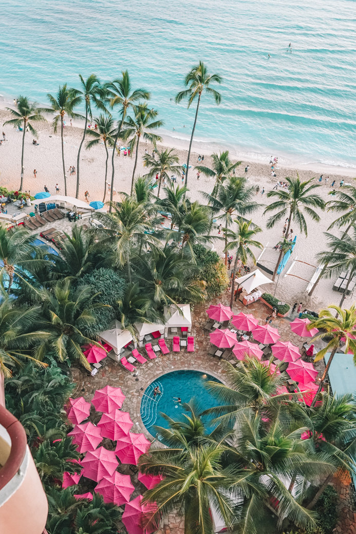 Royal Hawaiian Hotel Honolulu | Oahu | Aloha | Pink Palace | Waikiki | Bubbly Moments