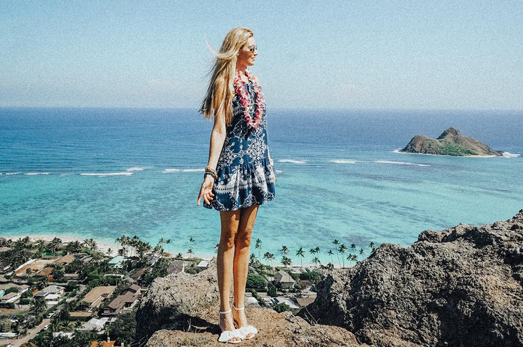 Kailua Beach Park | Pillbox Hike | Royal Hawaiian Hotel Honolulu | Oahu | Aloha | Pink Palace | Waikiki | Bubbly Moments