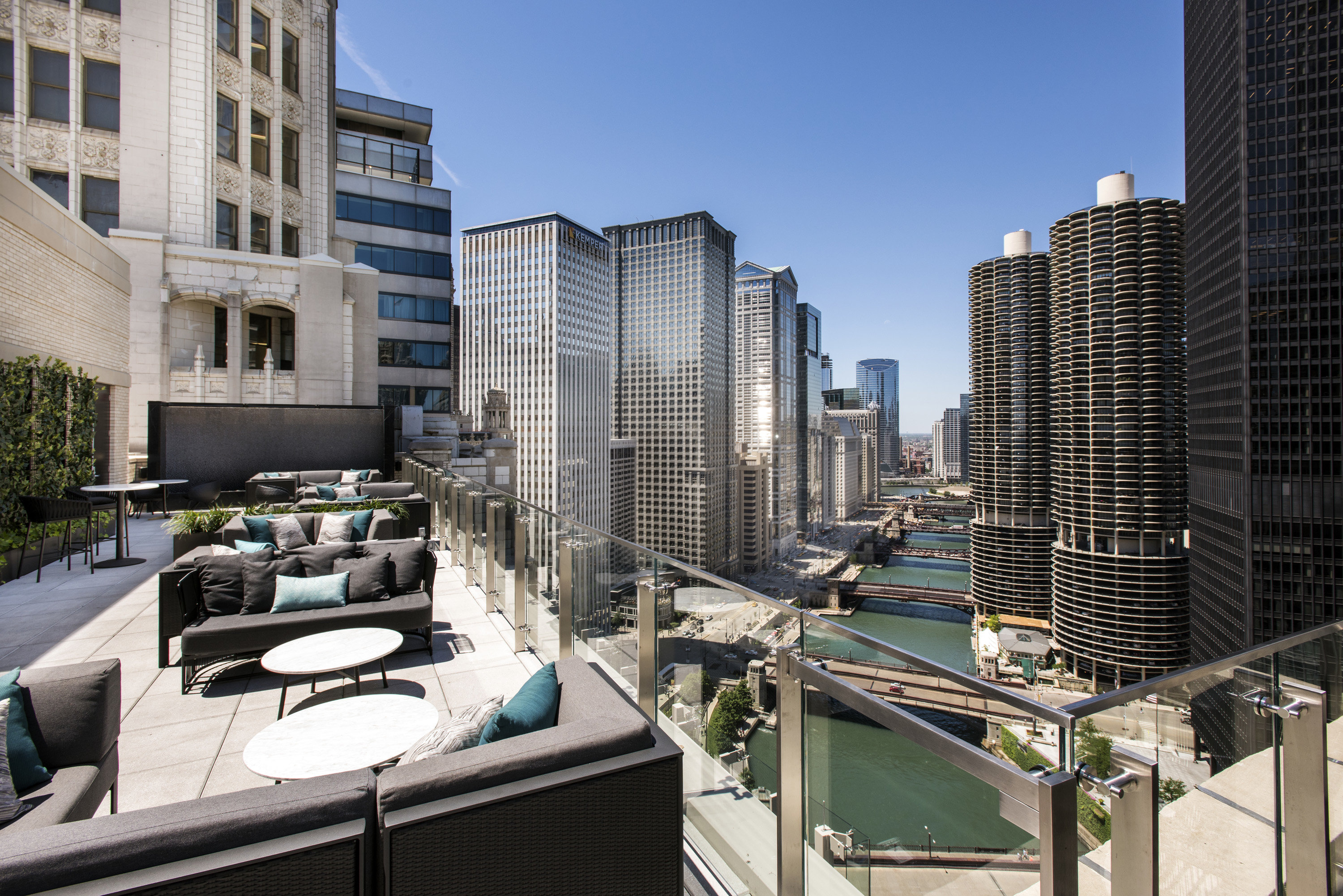 Best Rooftop Bars Chicago Bar