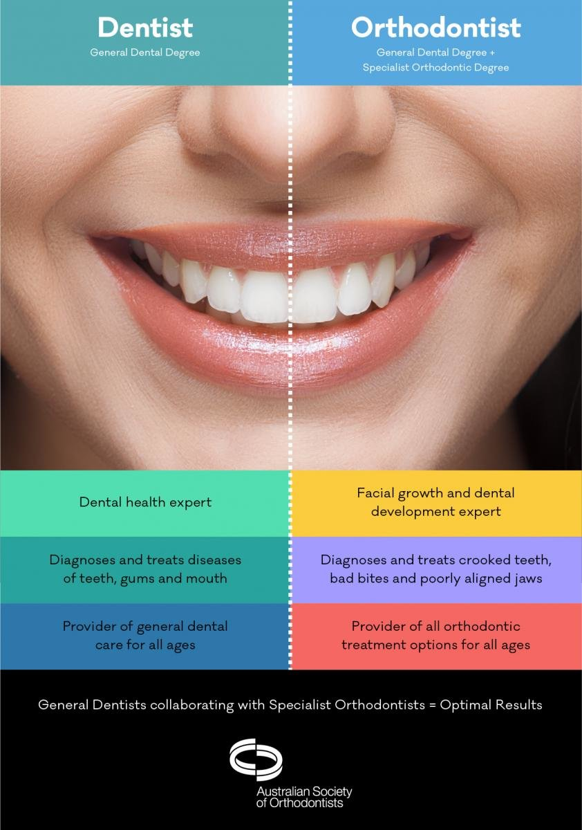 Difference between Dentist and Orthodontist | 7 Truths About Dentists and Orthodontists – Why Go to An Orthodontist When You Already Have a Dentist | Orthodontic Treatment | Bubbly Moments