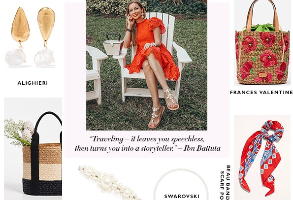5 Unique Accessory Trends to Try This Summer   Summer Handbag   Must-Haves   2019 Trends   Hottest Accessories   On-trend   Hair Scarves   Barrettes   Bucket Bags   Pearls   Bubbly Moments