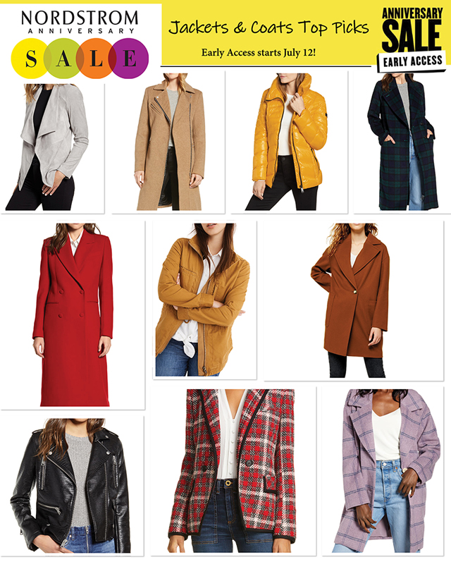 a229b5a8f The 7 Best Jackets & Coats Deals from the Nordstrom Anniversary Sale