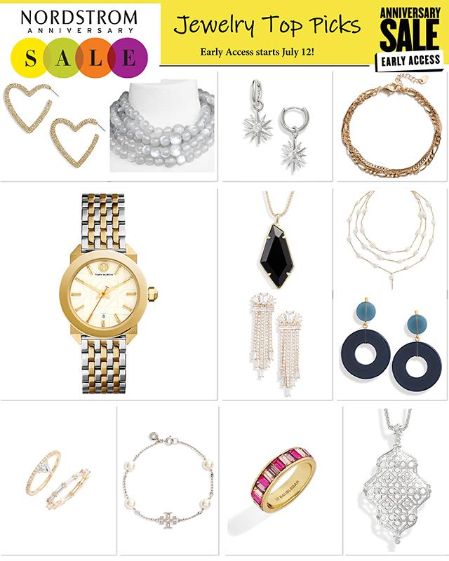 7 Best Jewelry Deals | Bracelet | Necklace | Earrings | Nordstrom Anniversary Sale | Nordstrom Anniversary Public Sale | Shop | Bubbly Moments
