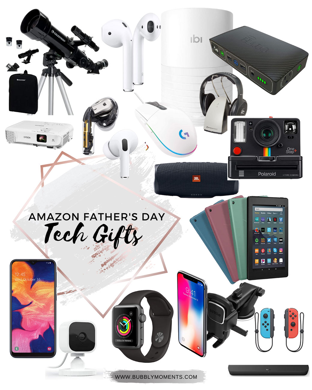 Amazon Fathers Day Gift Guide Ideas | Bubbly Moments