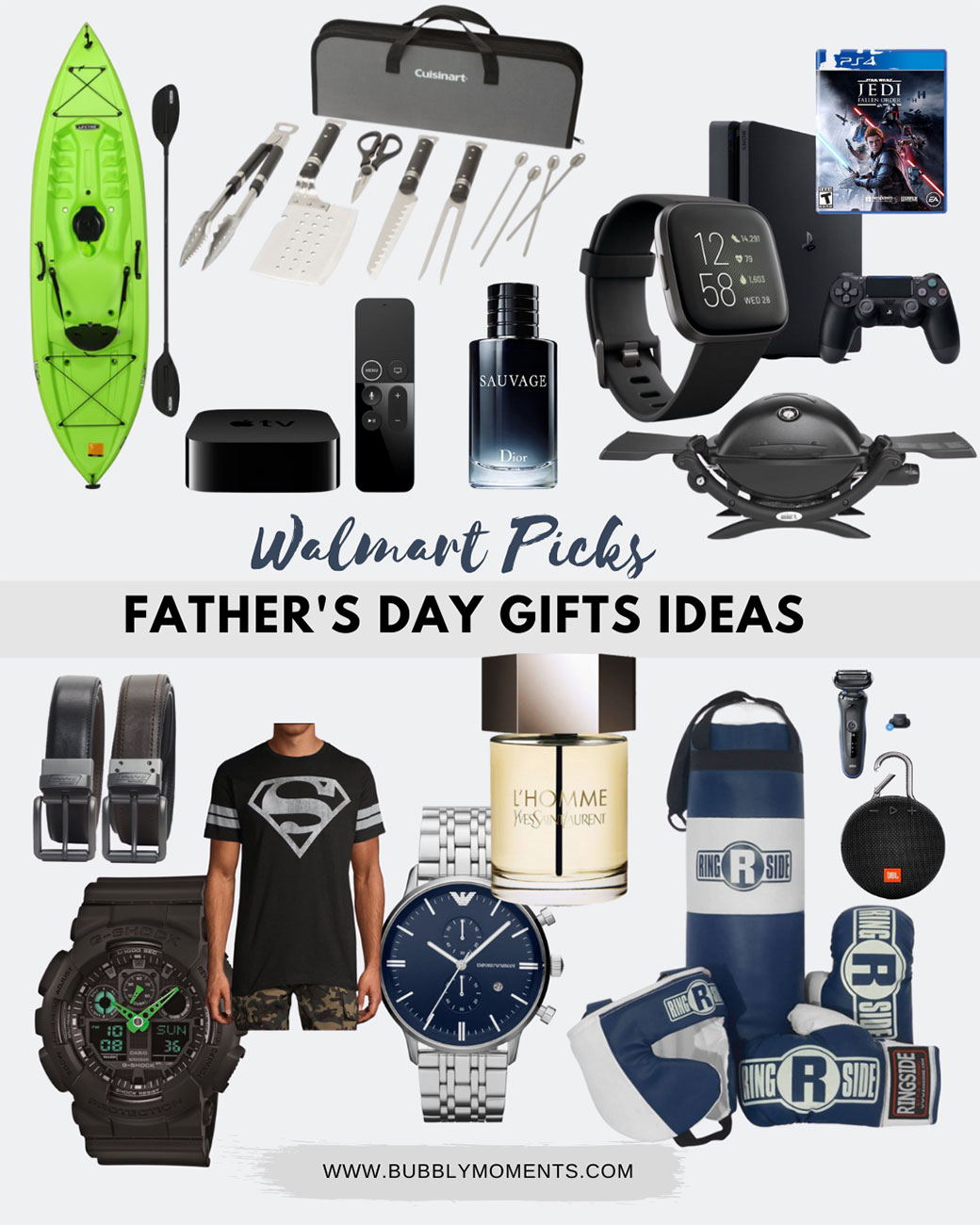 Walmart Fathers Day Gift Guide Ideas | Bubbly Moments