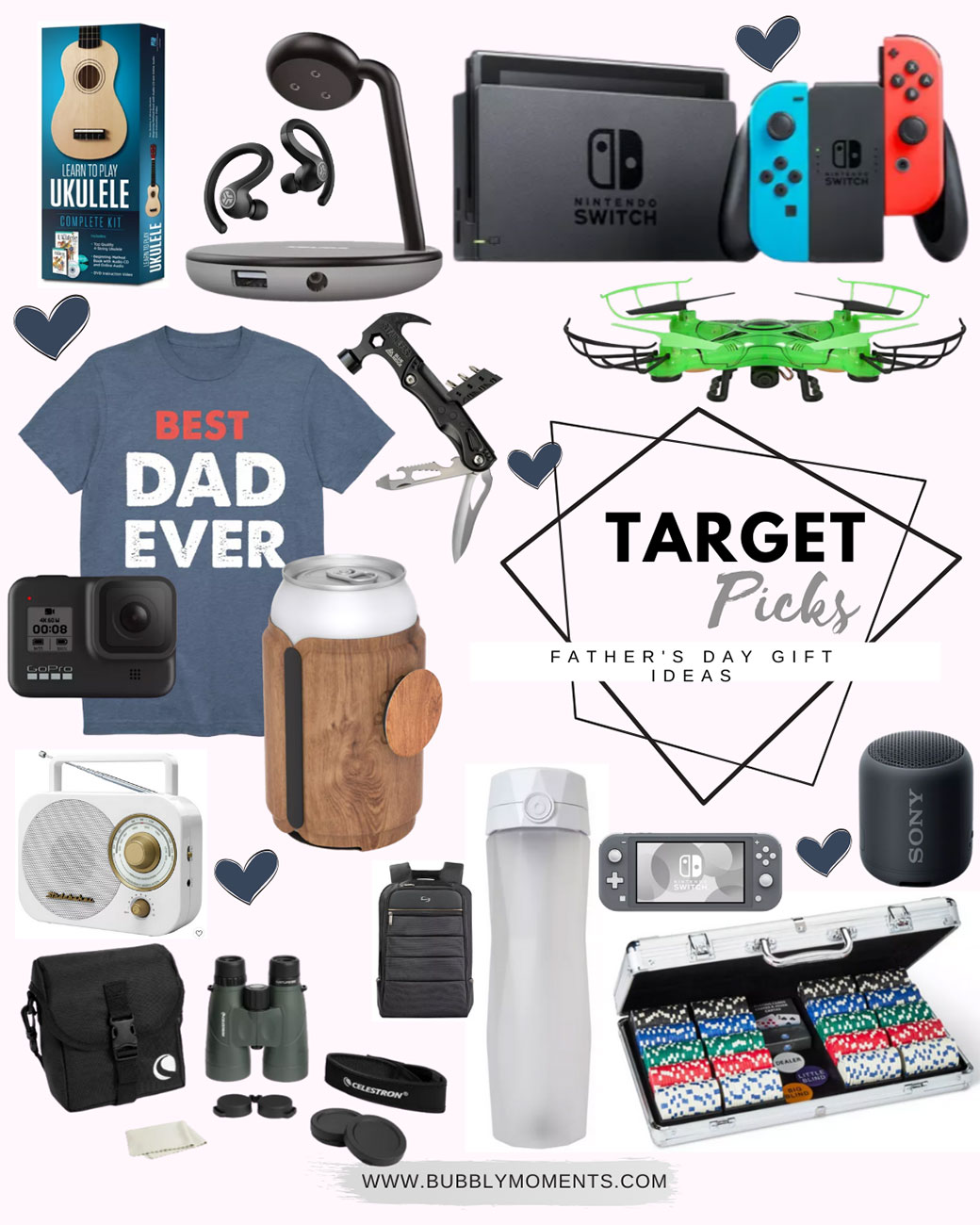 target Fathers Day Gift Guide Ideas | Bubbly Moments