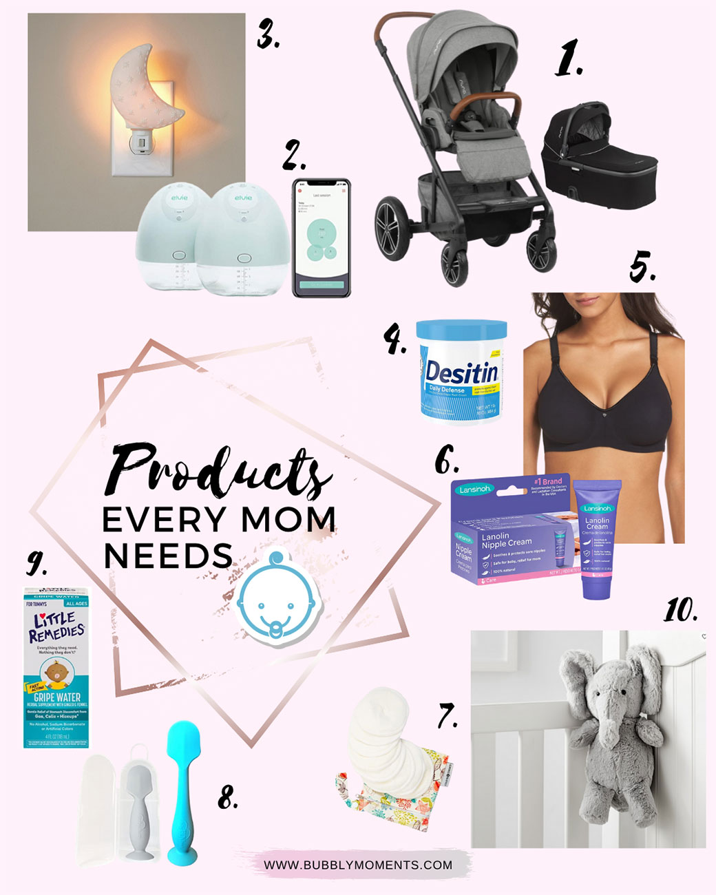 Products Every Mom Needs | Baby and Mom Essentials